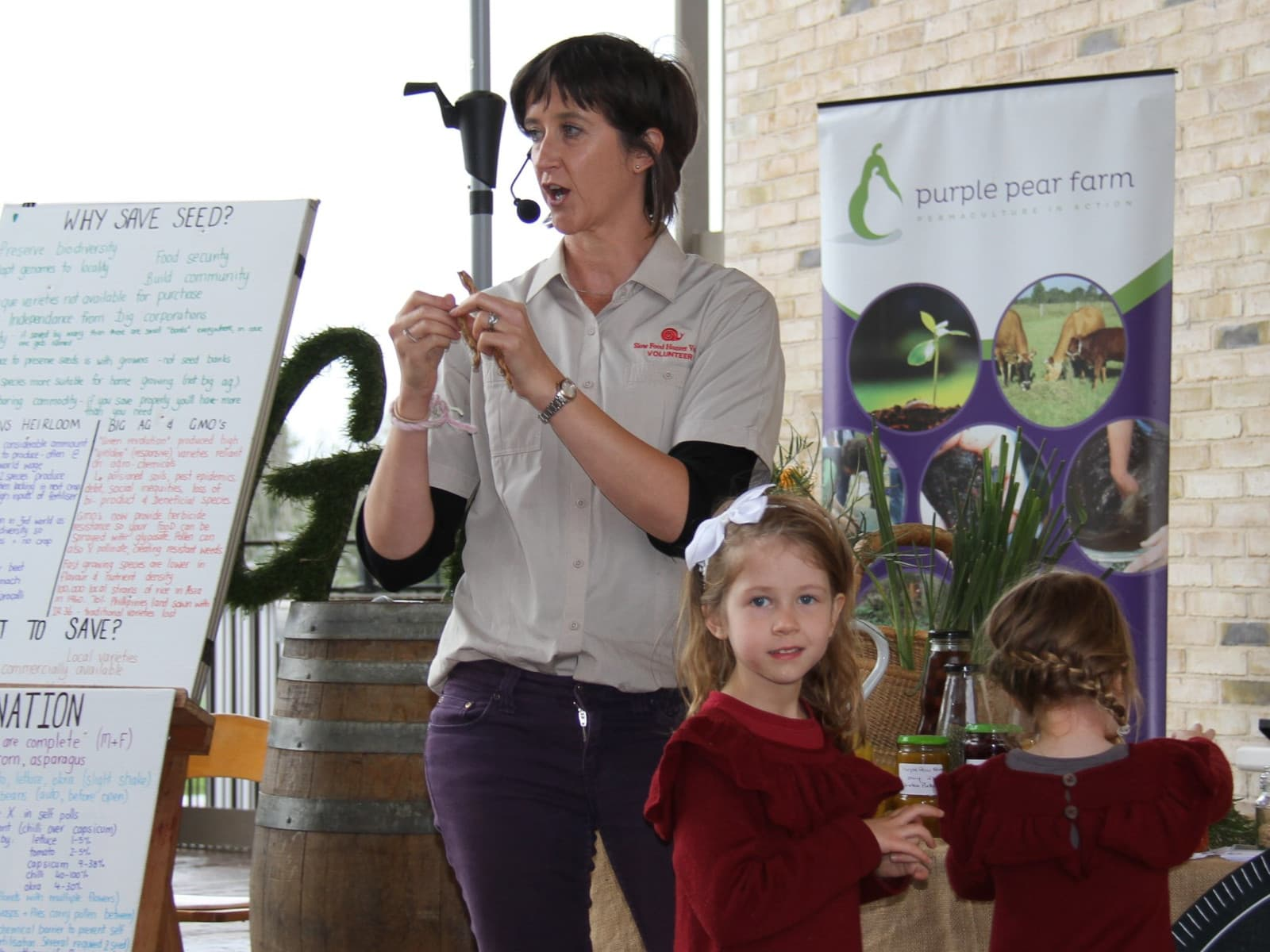 Hall Gathering - Seed Saving and Establishing a Seed Library