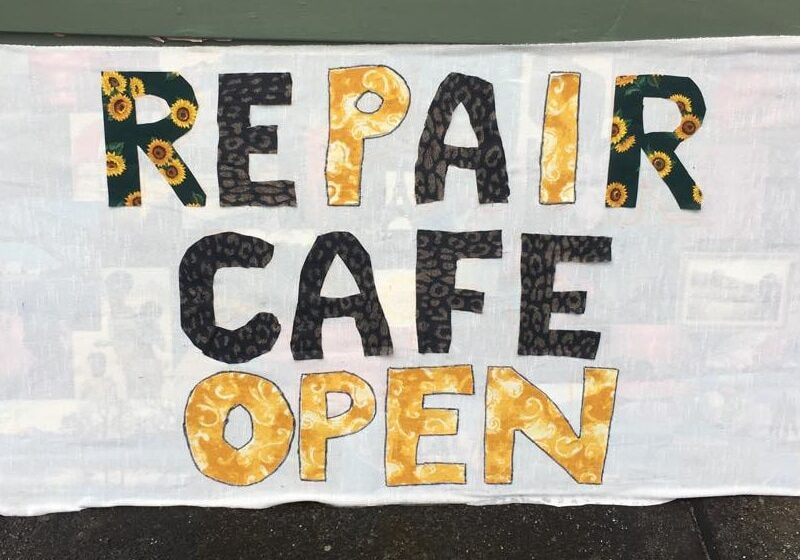 Home-made Repair cafe banner