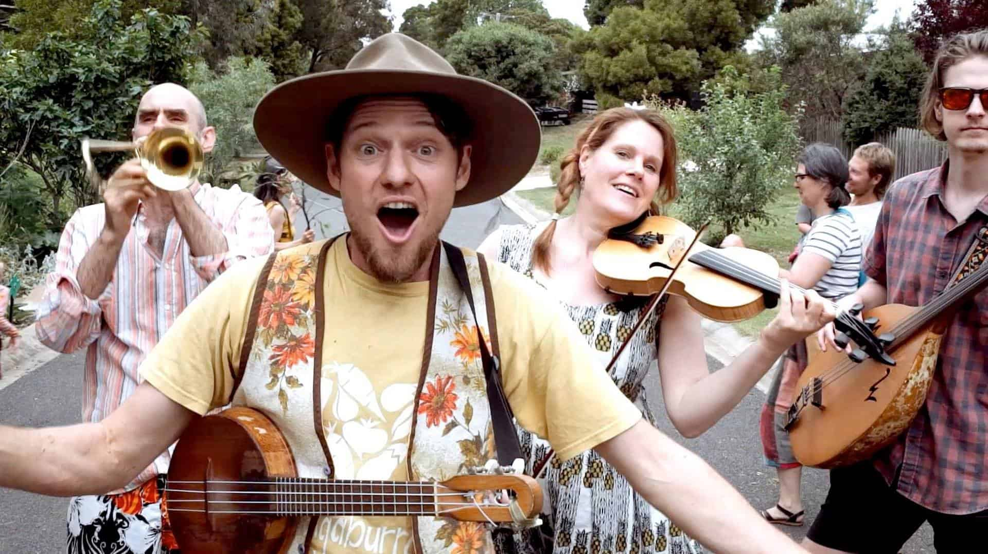 Conversation about permaculture music with Charlie Mgee